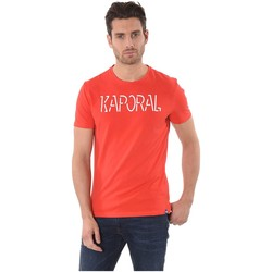 Vêtements Homme T-shirts manches courtes Kaporal T Shirt Homme Hello Rouge Rouge