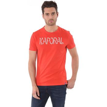 Vêtements Homme T-shirts manches courtes Kaporal T Shirt Homme Hello Rouge 8
