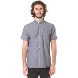 Vêtements Homme Chemises manches courtes Minimum CHALLIS Bleu
