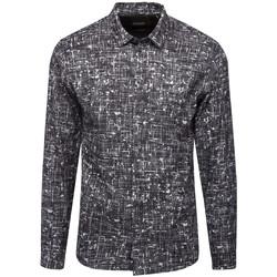 Vêtements Homme Chemises manches longues Minimum CLIFFSIDE Noir