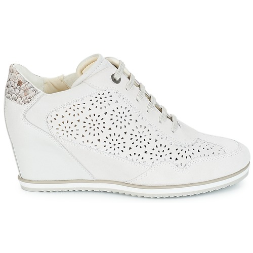 2990623f032fc0 Illusion Geox Montante Blanc D Basket Chaussures xCwSg