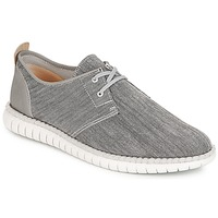 Chaussures Homme Baskets basses Clarks MZT Freedom Grey Canvas