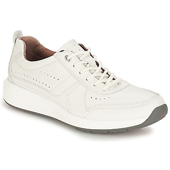 Chaussures Homme Baskets basses Clarks Un Coast Form White Leather