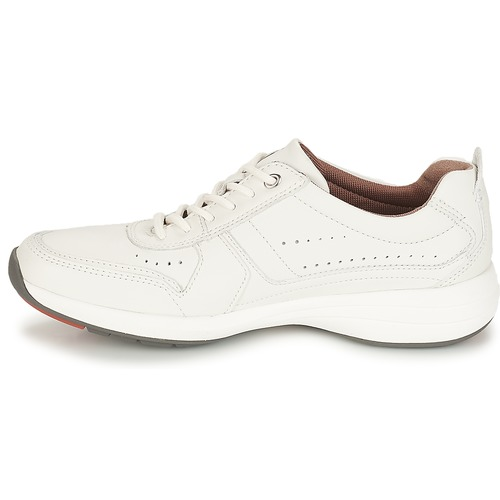 Basses Leather Baskets Form White Coast Clarks Un Homme bf7gyY6v