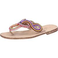 Chaussures Femme Sandales et Nu-pieds Eddy Daniele sandales multicolor cuir perline ax895 multicolor