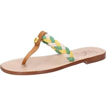 Chaussures Femme Sandales et Nu-pieds Eddy Daniele sandales multicolor cuir corda ax790 multicolor