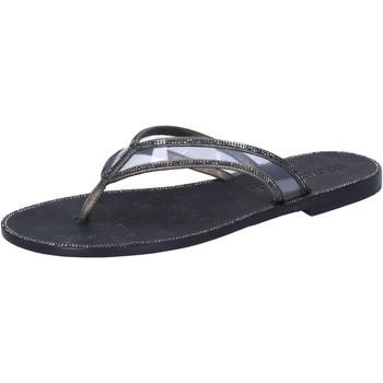 Chaussures Femme Sandales et Nu-pieds Eddy Daniele AW682 gris