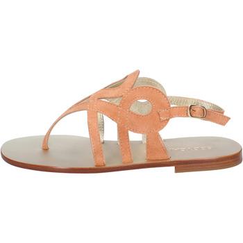 Chaussures Femme Sandales et Nu-pieds Eddy Daniele chaussures femme  sandales orange daim aw320 orange
