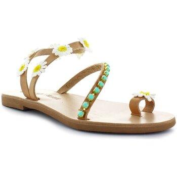 Chaussures Femme Sandales et Nu-pieds Dimitra's Workshop Sandale Daisy blanc