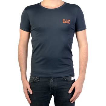 Vêtements T-shirts & Polos Emporio Armani EA7 T-Shirt EA7  Sea World Noir