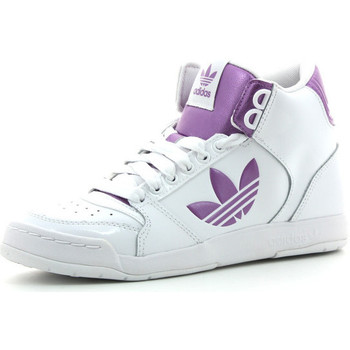 Chaussures Femme Baskets montantes adidas Originals Midiru Court 2.0 TR Blanc/Rose