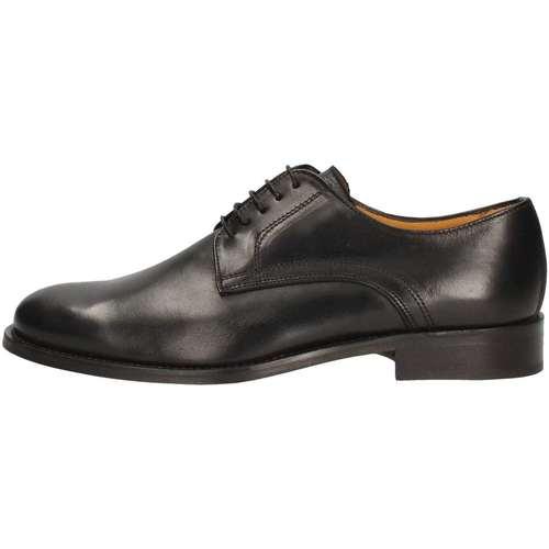 Hudson F2200 Lace up shoes Homme Noir Noir - Chaussures Richelieu Homme