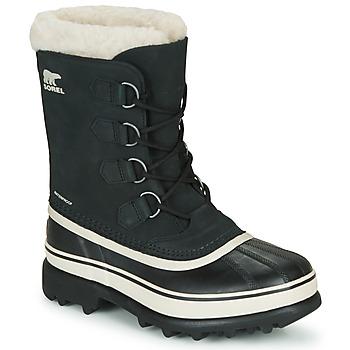 Chaussures Femme Bottes de neige Sorel CARIBOU Noir