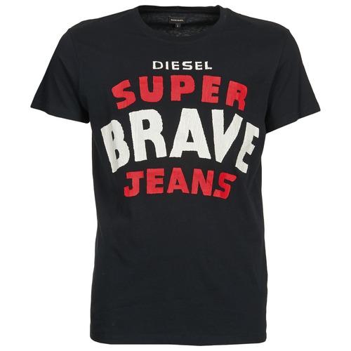 Vêtements Homme T-shirts manches courtes Diesel T-ASTERIOS Noir