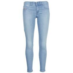 Vêtements Femme Jeans slim Diesel LIVIER ANKLE Bleu clair