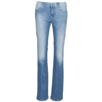 Vêtements Femme Jeans bootcut Diesel BOOTZE Bleu
