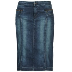 Vêtements Femme Jupes Diesel DE-TRENKER Bleu fonc'