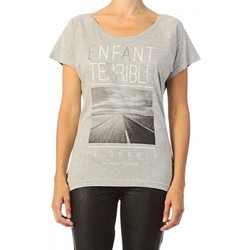 Vêtements Femme T-shirts manches courtes Only T-shirt  Killer Grey Noir