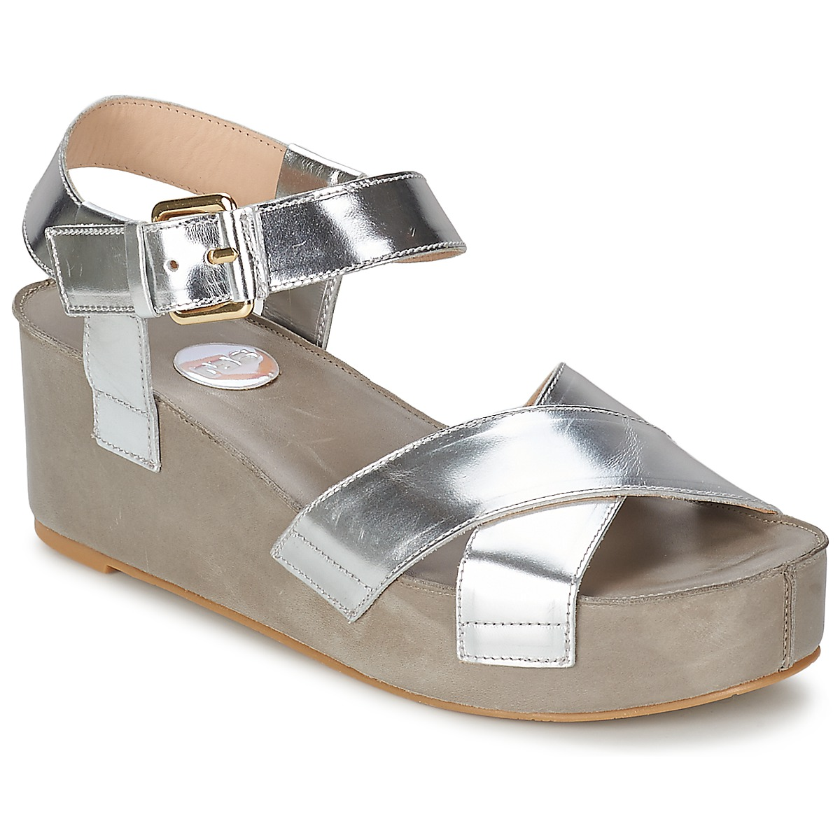 Sandale RAS NIOBE Argent