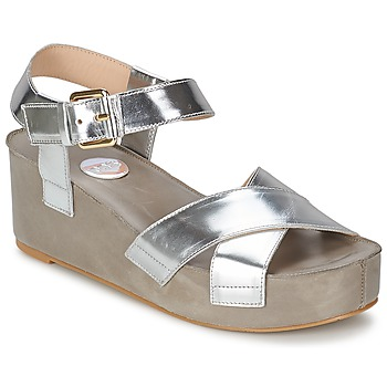 Sandale RAS NIOBE Argent 350x350