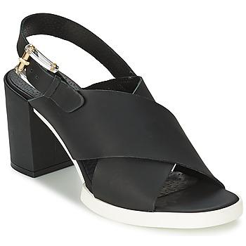 Chaussures Femme Sandales et Nu-pieds Miista DELILIAH Noir