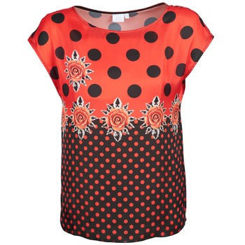 T-shirts & Polos Alba Moda BETTINA Rouge / Noir 350x350