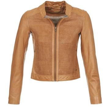 Vêtements Femme Vestes en cuir / synthétiques Ikks SANTA ANA Cognac