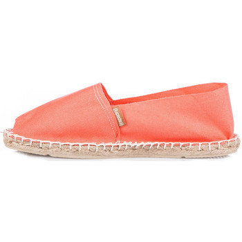 Chaussures Femme Ballerines / babies Espadrij Espadrilles  femmes ref_esp43766 Corail orange