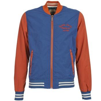 Vestes Teddy Smith BISTHER Bleu / Ocre 350x350