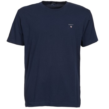 T-shirts & Polos Gant THE ORIGINAL SOLID T-SHIRT Marine 350x350