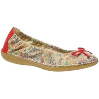 Chaussures Femme Ballerines / babies Libre Comme l'Air JATYA kaolin/rouge
