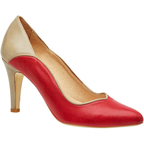 T7 nude Comme Femme Libre Escarpins L'air Red Jorel X0PnOwkN8