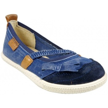 Chaussures Fille Baskets basses Palladium Carmel TWL  Jeans Bleu