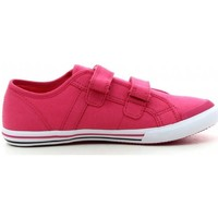 Chaussures Fille Baskets basses Le Coq Sportif Saint Malo PS Strap Fuchsia Rose