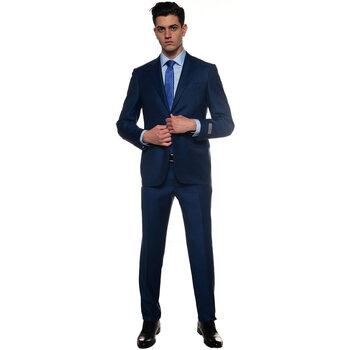 Vêtements Homme Costumes et cravates Canali L1128019-BF01497301 blu medio