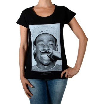 Vêtements Femme T-shirts manches courtes Eleven Paris Tee Shirt Tyler W Tyler The Creator Noir
