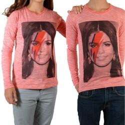 Vêtements Femme T-shirts manches longues Eleven Paris Selena LS Selena Gomez Mixte Rouge