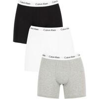 Vêtements Homme Boxers   Caleçons Calvin Klein Jeans Homme Lot de 3 boxers  en coton extensible ba63cc6bf13