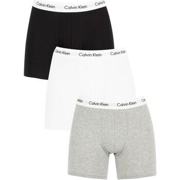 Vêtements Homme Boxers   Caleçons Calvin Klein Jeans Homme Lot de 3 boxers  en coton extensible 19bd0b82fde
