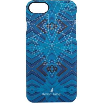 Sacs Housses portable Devid Label GEOMETRIC IPHONE CASE | BLU |  | CVGEBL bleu