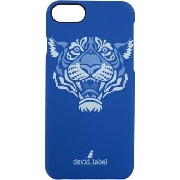 Sacs Housses portable Devid Label TIGER IPHONE CASE | BLU |  | CVTGR bleu