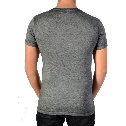 Manches Gris Tee Fanye shirts Eleven T Paris Shirt Courtes Homme HWE92DIY