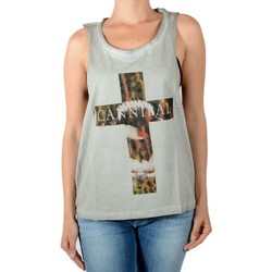 Vêtements Femme Débardeurs / T-shirts sans manche Eleven Paris Débardeur Damical Gris