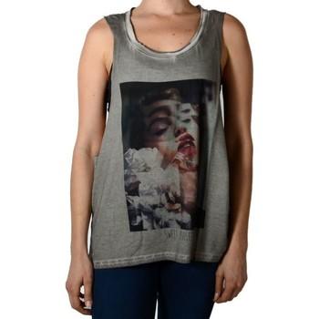 Vêtements Femme Débardeurs / T-shirts sans manche Eleven Paris Debardeur Disaster Gris