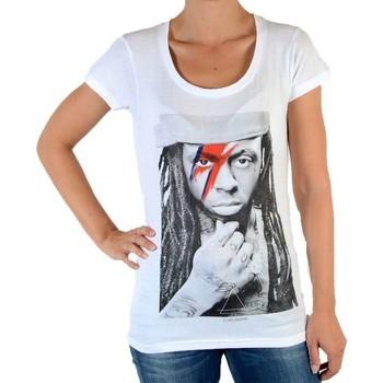 Vêtements Femme T-shirts manches courtes Eleven Paris Tee Shirt Kaway W Lil Wayne Blanc