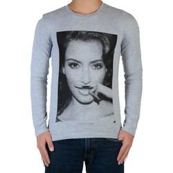 Vêtements Enfant T-shirts manches longues Eleven Paris Kim LS Mixte Gris
