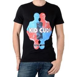 Vêtements Homme T-shirts manches courtes Eleven Paris Kidc M Kid Cudi Noir