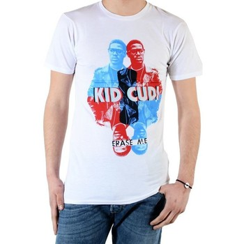 Vêtements Homme T-shirts manches courtes Eleven Paris Tee Shirt Kidc M Kid Cudi Blanc
