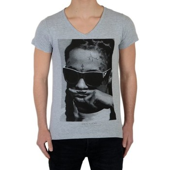 Vêtements T-shirts manches courtes Eleven Paris Lil SS Mixte Gris