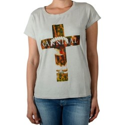 Vêtements Femme T-shirts manches courtes Eleven Paris Tee Shirt Damical Gris